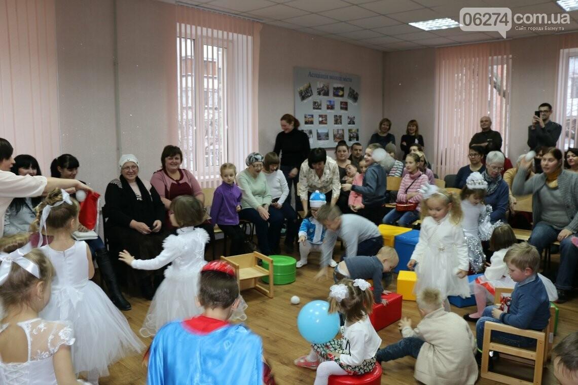 Особенных детей Бахмута поздравили с Новогодними и Рождественскими праздниками, фото-17
