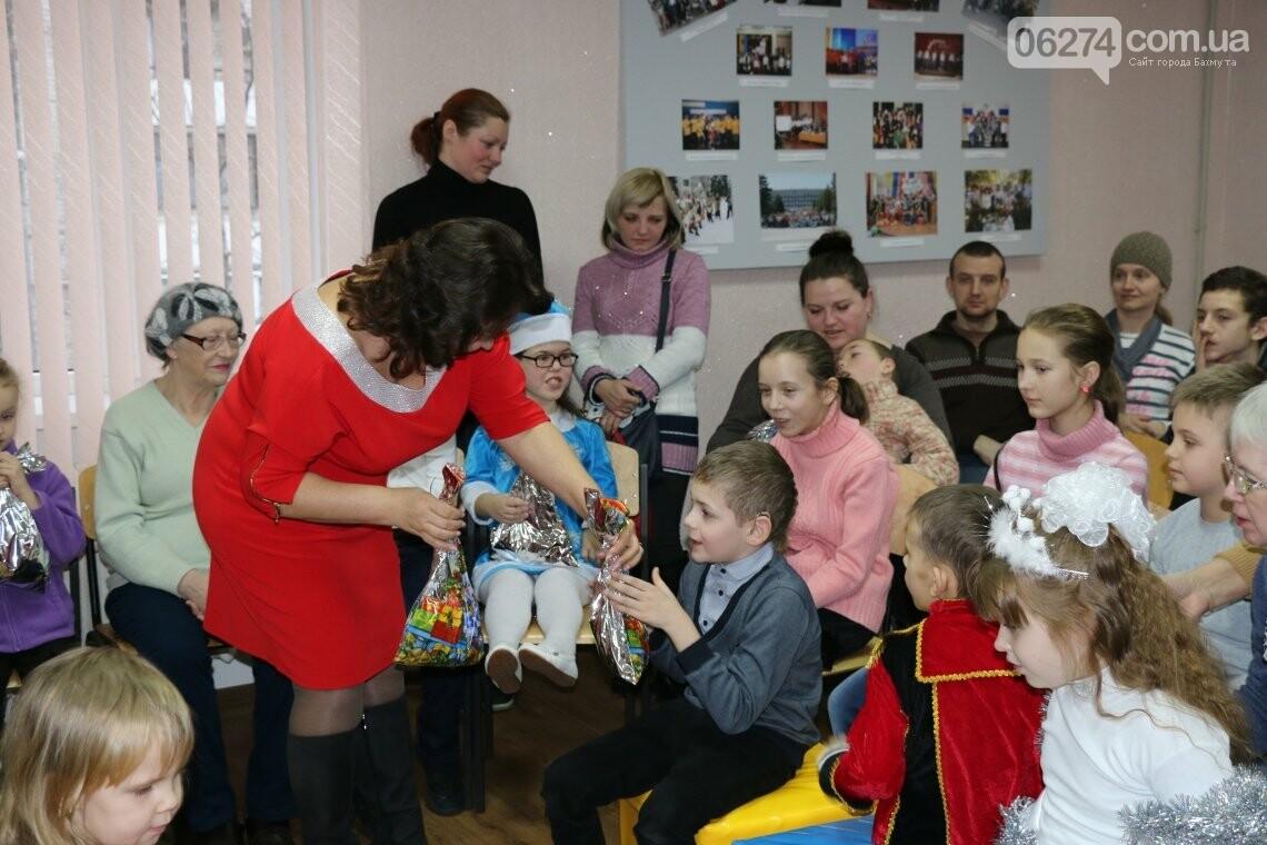 Особенных детей Бахмута поздравили с Новогодними и Рождественскими праздниками, фото-24