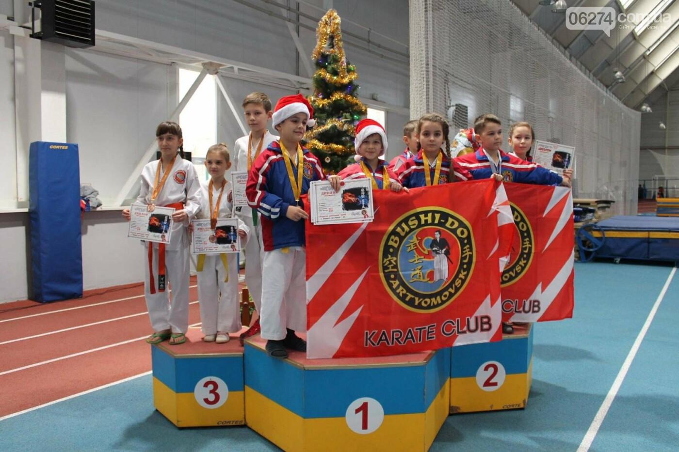 Новогодний турнир по каратэ в Бахмуте, фото-7