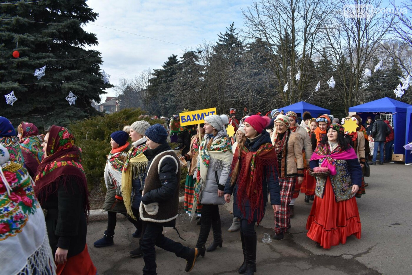 Бахмутские коллективы приняли участие в фестивале вертепов «Рождественский перезвон», фото-3