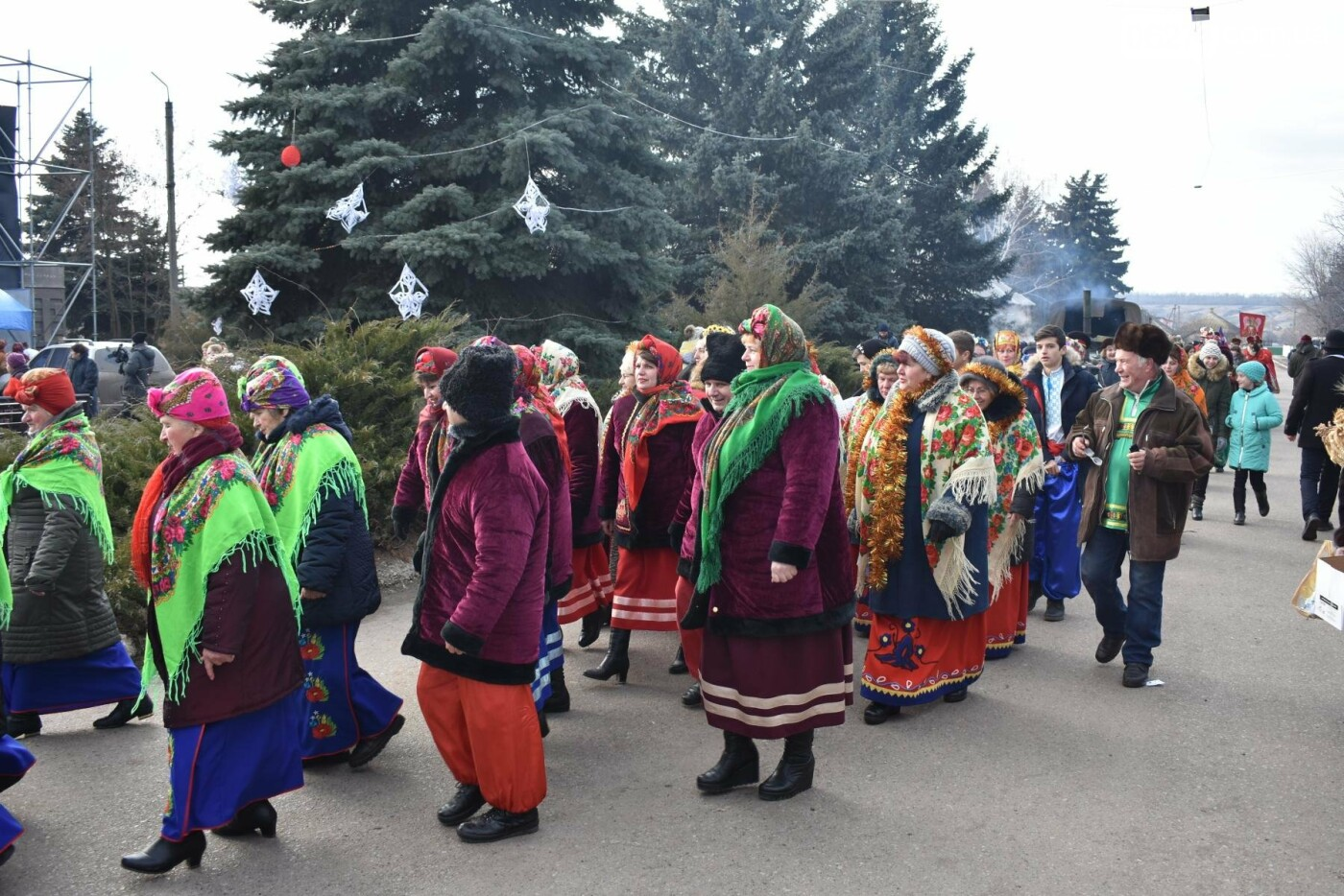 Бахмутские коллективы приняли участие в фестивале вертепов «Рождественский перезвон», фото-19