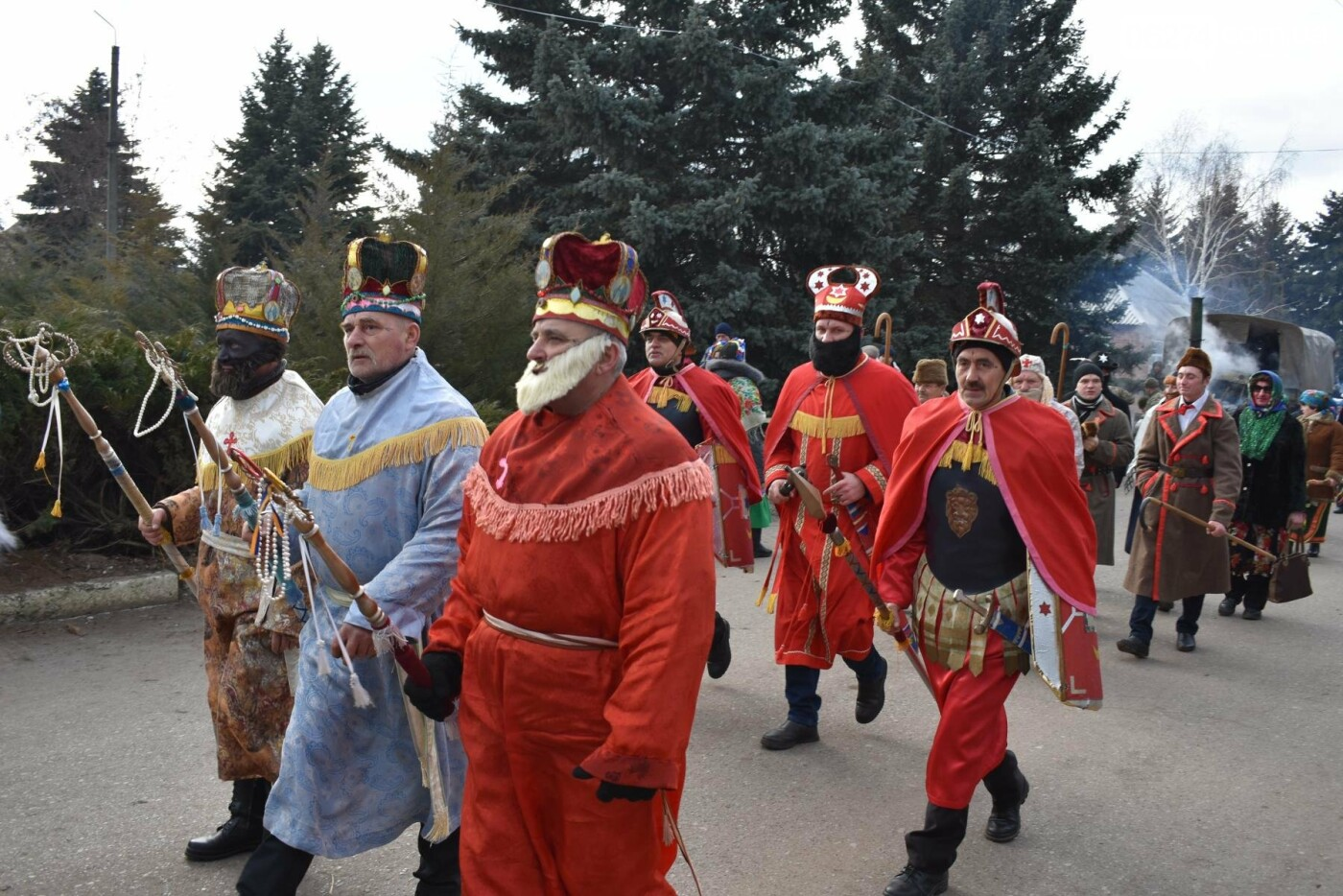 Бахмутские коллективы приняли участие в фестивале вертепов «Рождественский перезвон», фото-5