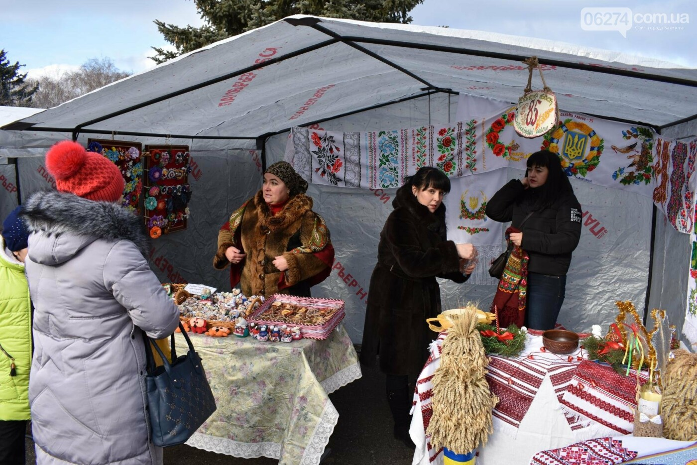 Бахмутские коллективы приняли участие в фестивале вертепов «Рождественский перезвон», фото-11