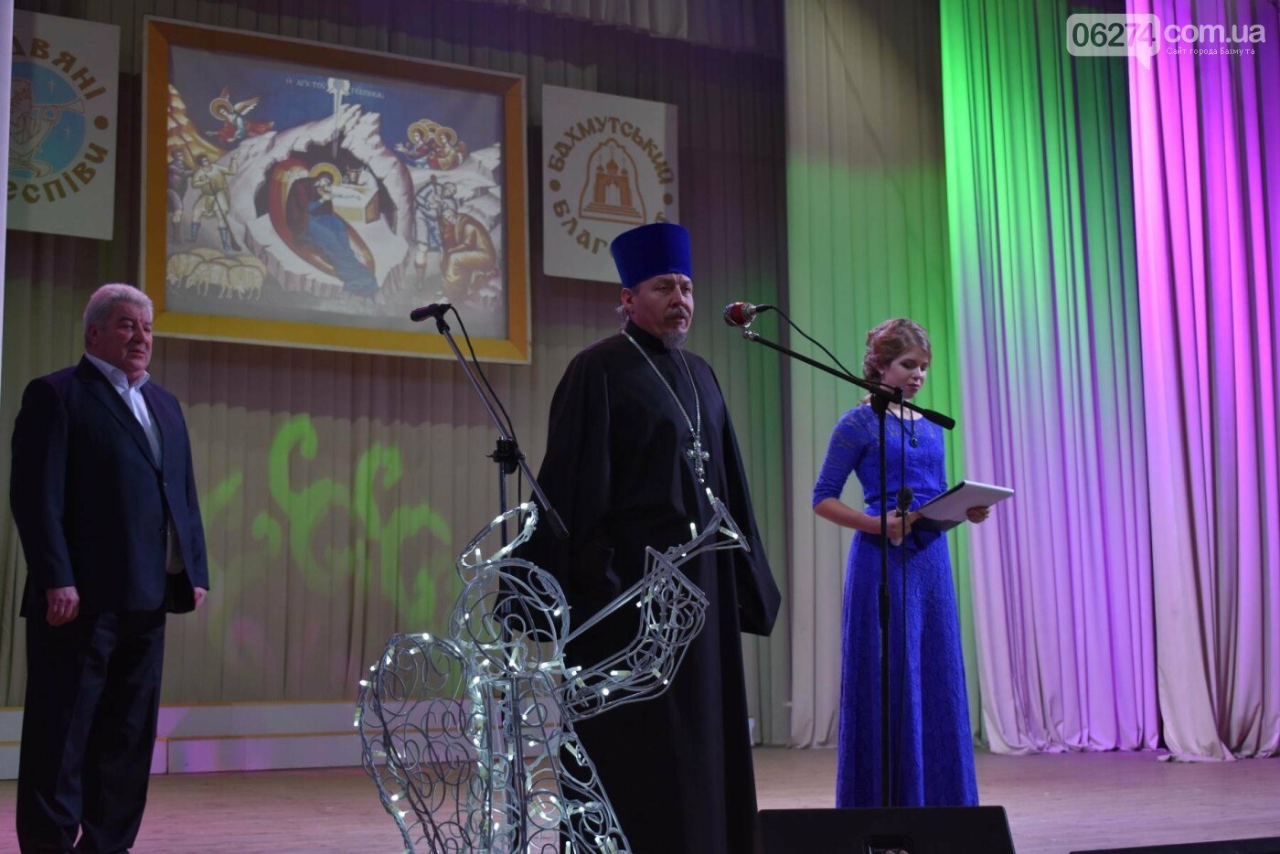 В Бахмуте прошел региональный фестиваль «Рождественские песнопения», фото-3