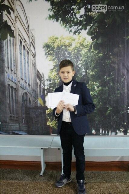 Школьники Бахмута получили письма от литовских друзей, фото-4