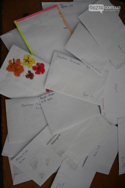 Школьники Бахмута получили письма от литовских друзей, фото-5