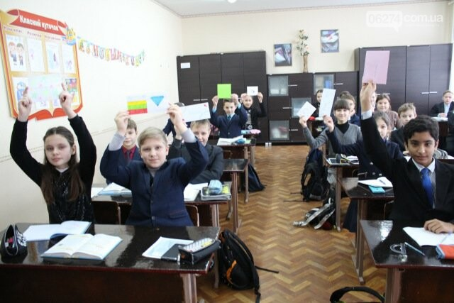 Школьники Бахмута получили письма от литовских друзей, фото-3