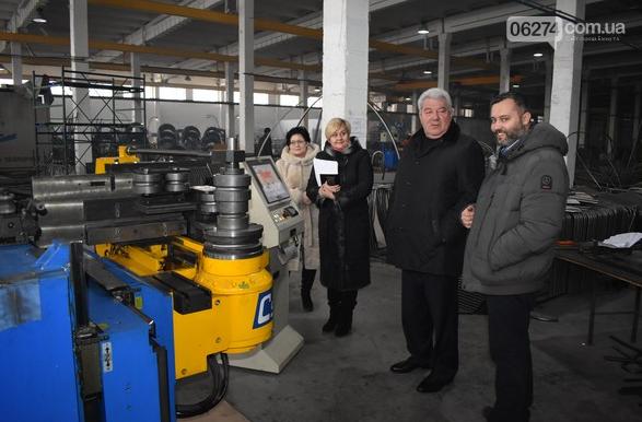 Бахмутский городской голова Алексей Рева посетил с рабочим визитом предприятия, фото-1