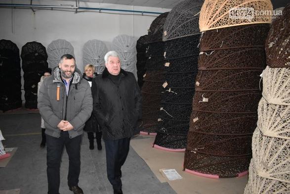 Бахмутский городской голова Алексей Рева посетил с рабочим визитом предприятия, фото-8