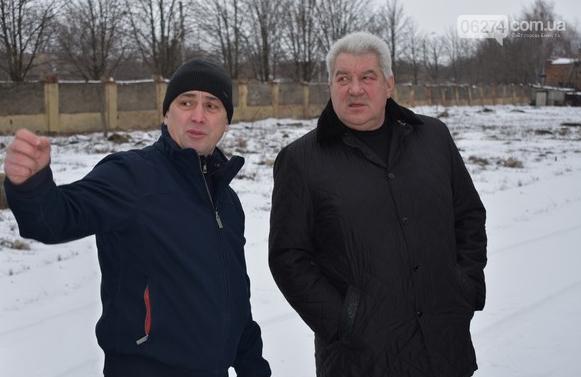 Бахмутский городской голова Алексей Рева посетил с рабочим визитом предприятия, фото-13
