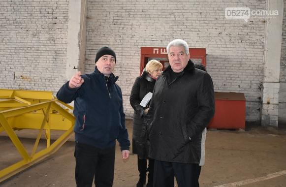 Бахмутский городской голова Алексей Рева посетил с рабочим визитом предприятия, фото-10