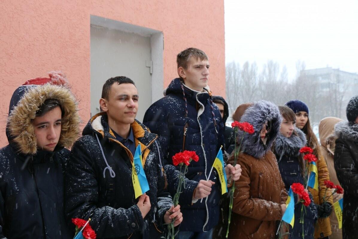 В Бахмуте почтили память Героя Украины Дмитрия Чернявского, фото-1