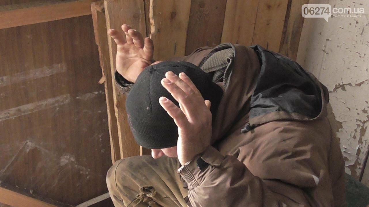 Полицейские Бахмута провели спецоперацию по освобождению заложников и задержанию преступников, фото-12