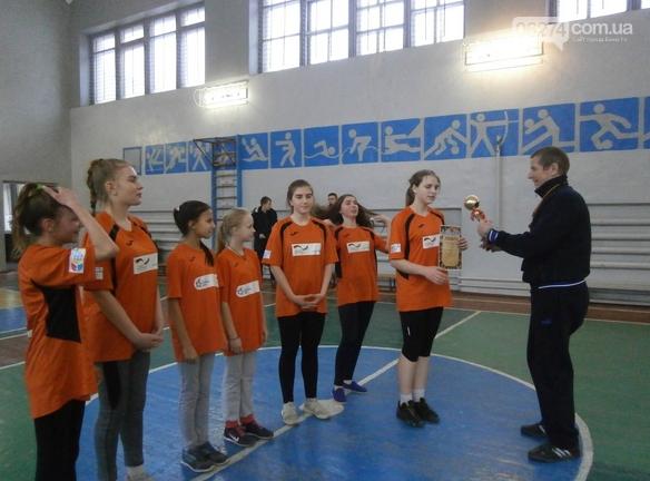 В Бахмуте прошло первенство города по баскетболу среди школьников, фото-1