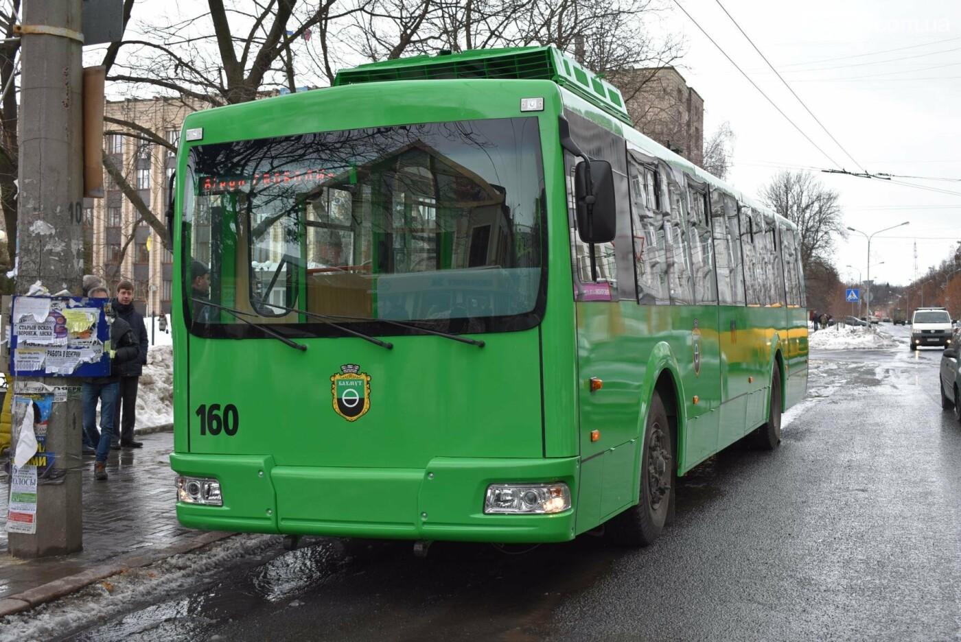 В Бахмуте презентовали очередной троллейбус после капремонта, фото-6