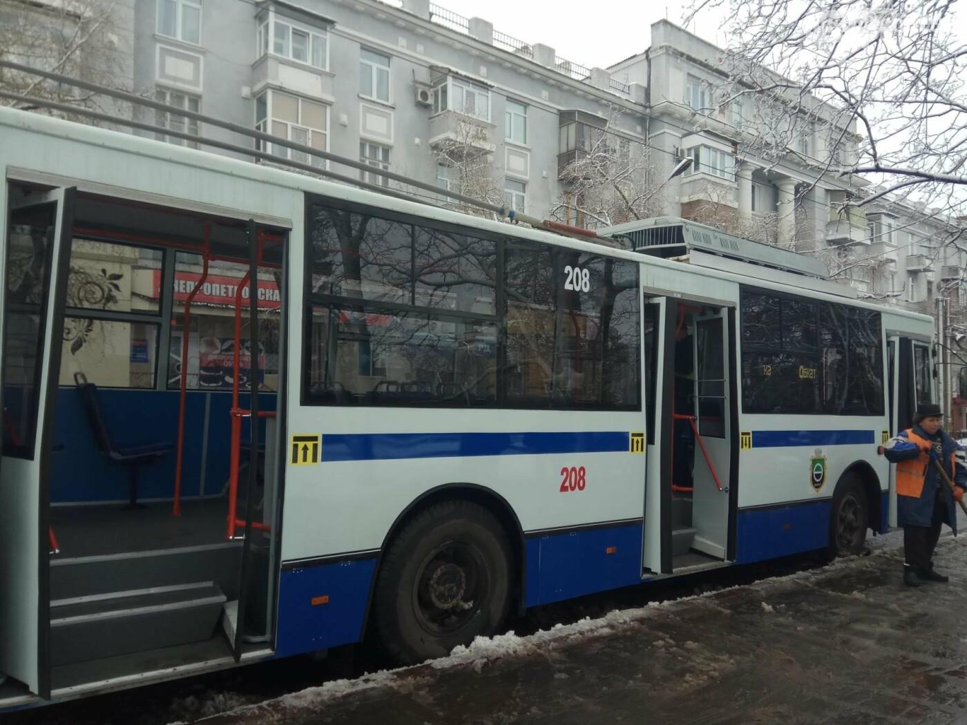 В Бахмуте презентовали очередной троллейбус после капремонта, фото-1