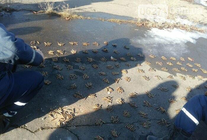 В прифронтовом Новолуганском обнаружен схрон боеприпасов, фото-2