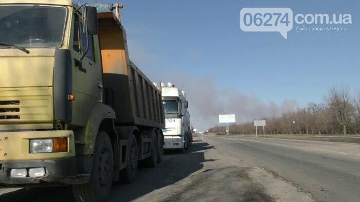 На Донетчине проводятся рейды контроля за передвижением крупногабаритного транспорта (ВИДЕО), фото-1