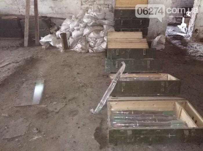 В Бахмутском районе СБУ обнаружила тайник с оружием и боеприпасами, фото-3