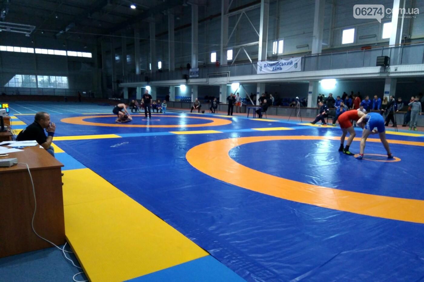 Областные соревнования по вольной борьбе в Бахмуте стали репетицией Чемпионата Украины, фото-2