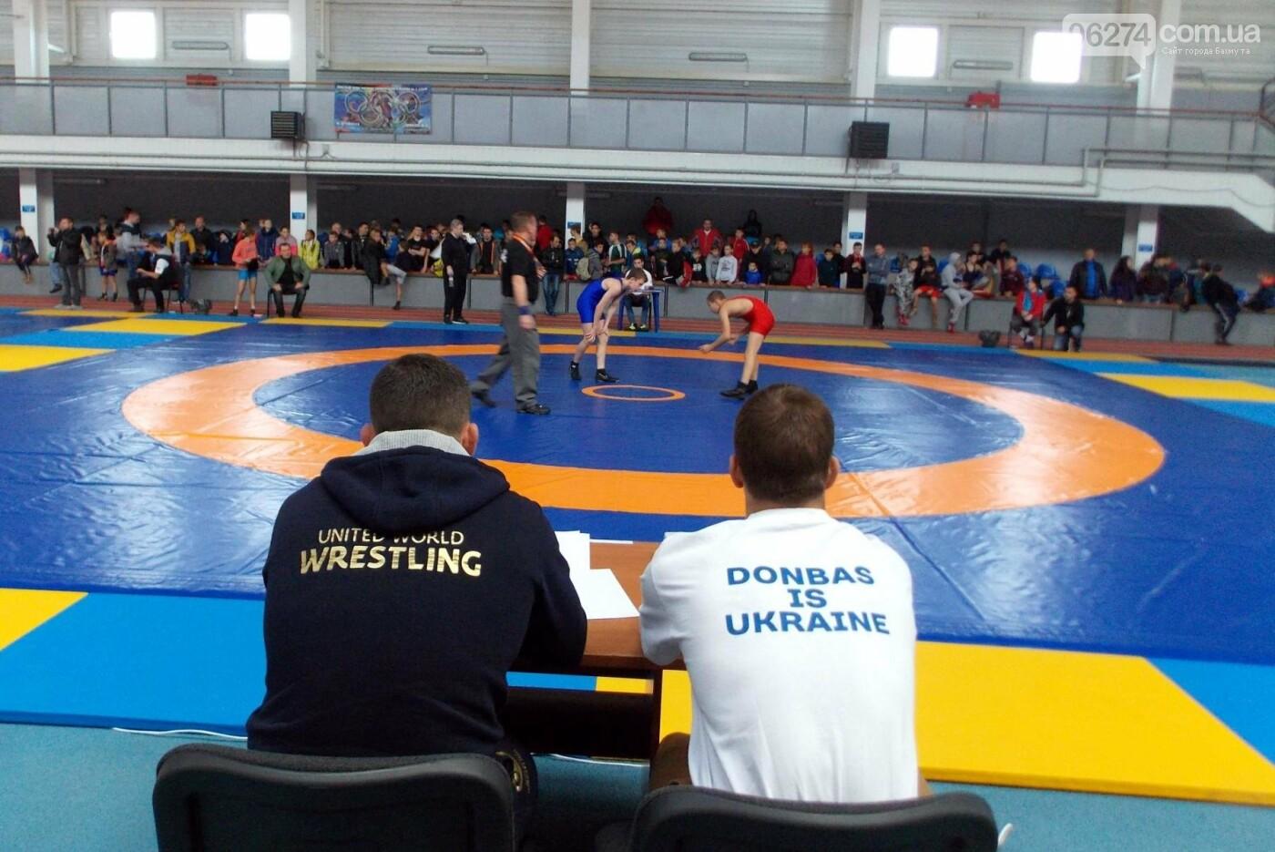 Областные соревнования по вольной борьбе в Бахмуте стали репетицией Чемпионата Украины, фото-3