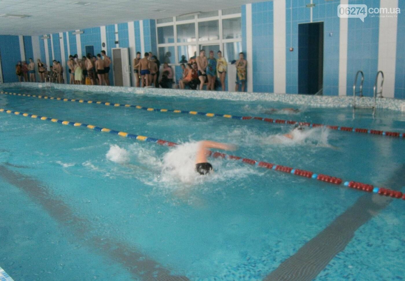 В Бахмуте прошел чемпионат по плаванью среди школьников, фото-2
