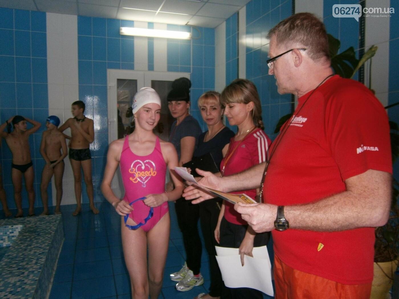 В Бахмуте прошел чемпионат по плаванью среди школьников, фото-3