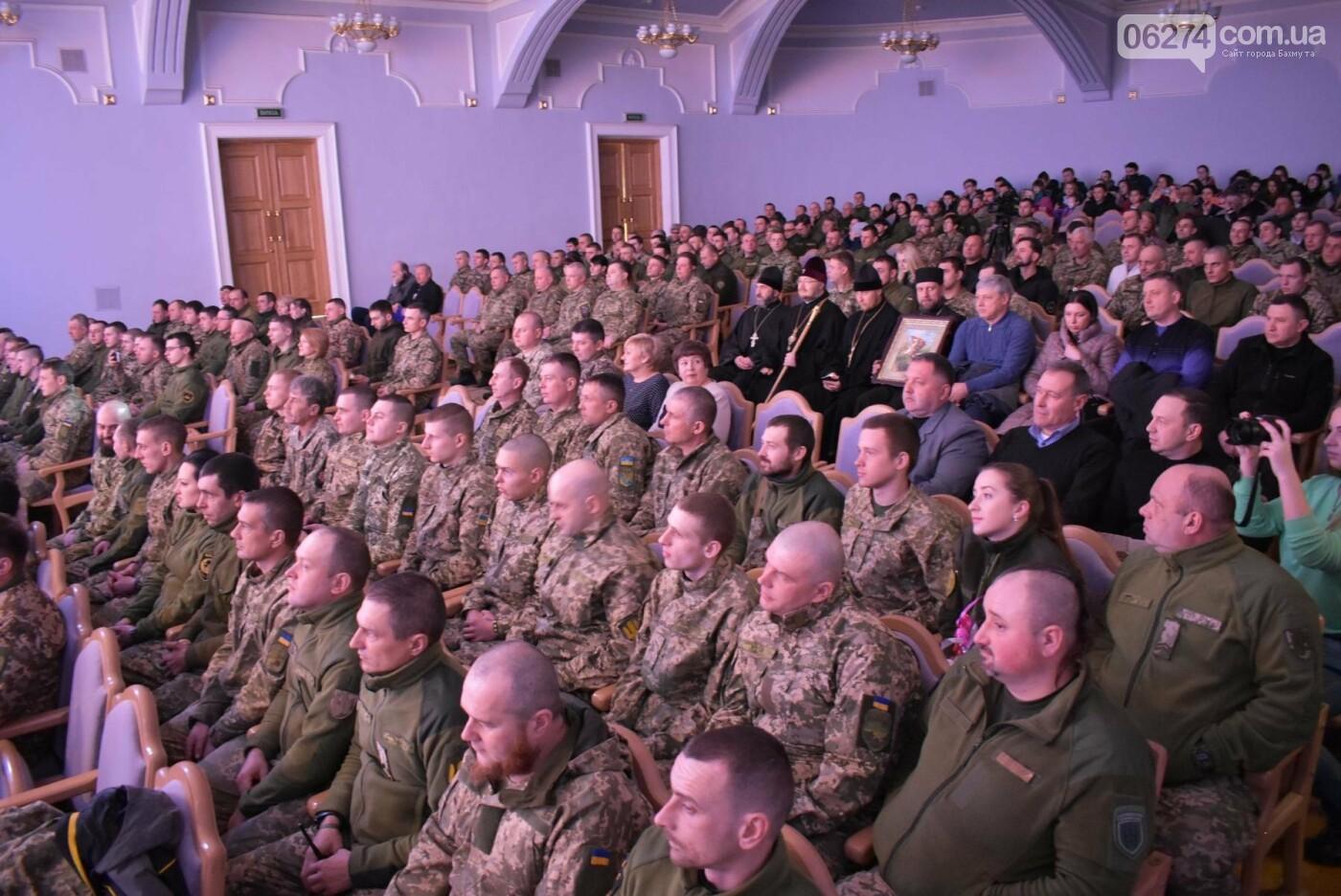 В Бахмуте свое трехлетие отметил 46-й отдельный батальон специального назначения «Донбасс-Украина», фото-2