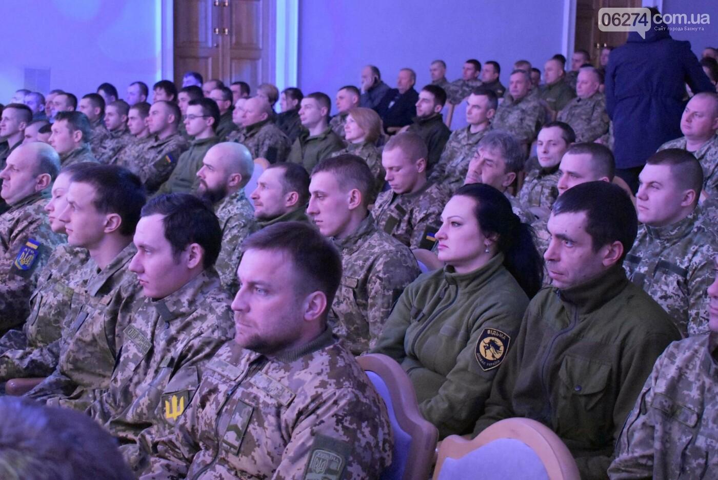В Бахмуте свое трехлетие отметил 46-й отдельный батальон специального назначения «Донбасс-Украина», фото-13