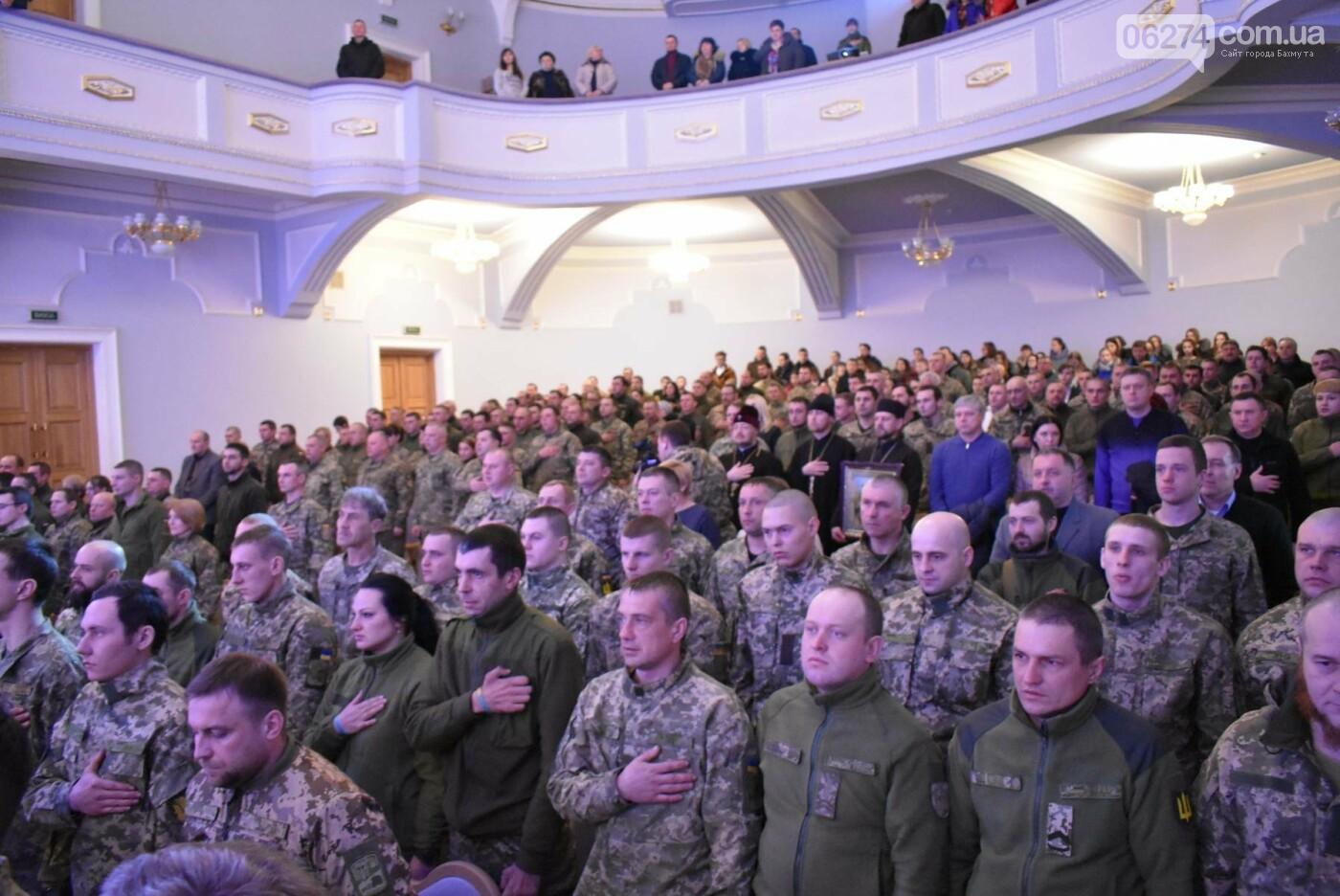 В Бахмуте свое трехлетие отметил 46-й отдельный батальон специального назначения «Донбасс-Украина», фото-3