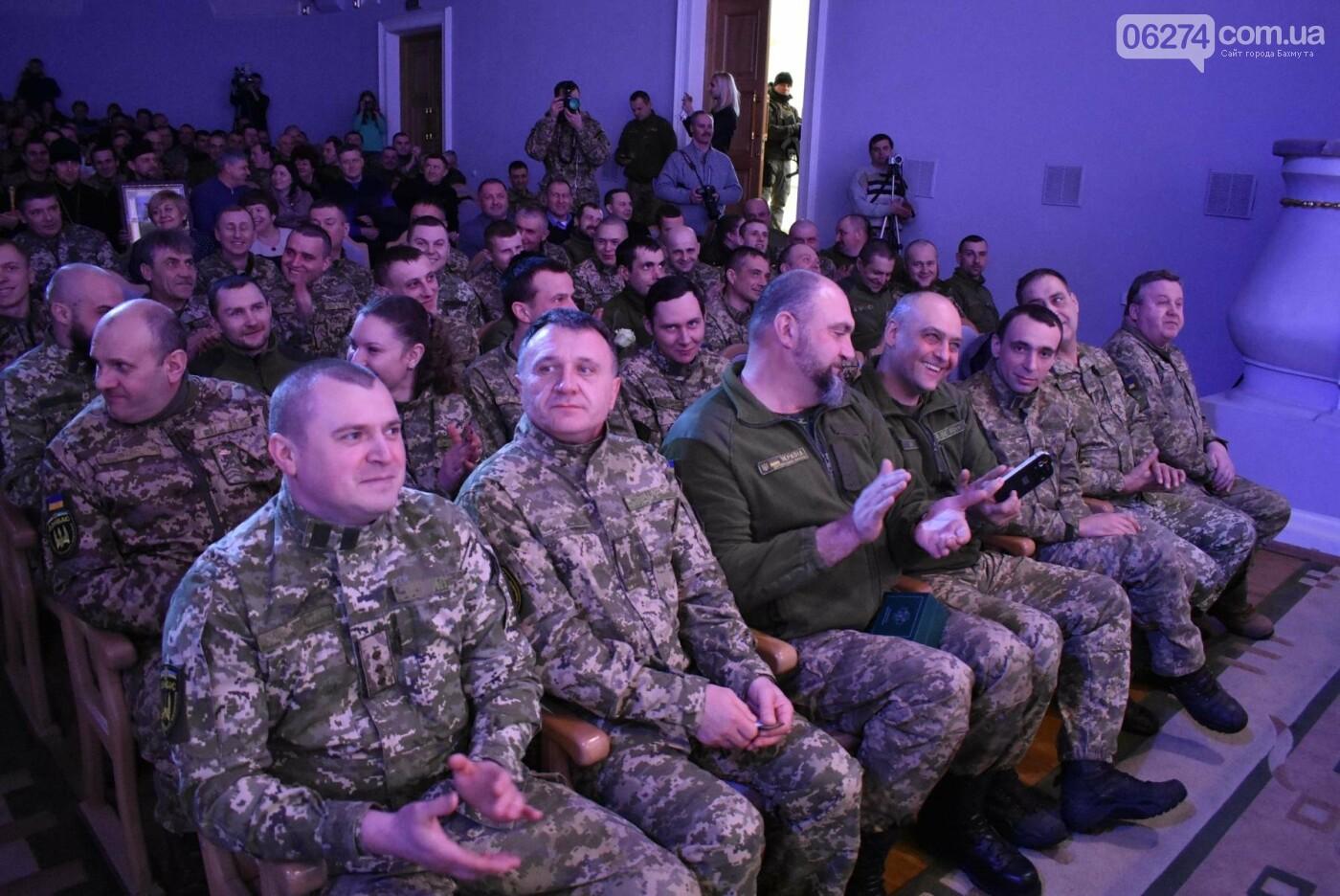 В Бахмуте свое трехлетие отметил 46-й отдельный батальон специального назначения «Донбасс-Украина», фото-14