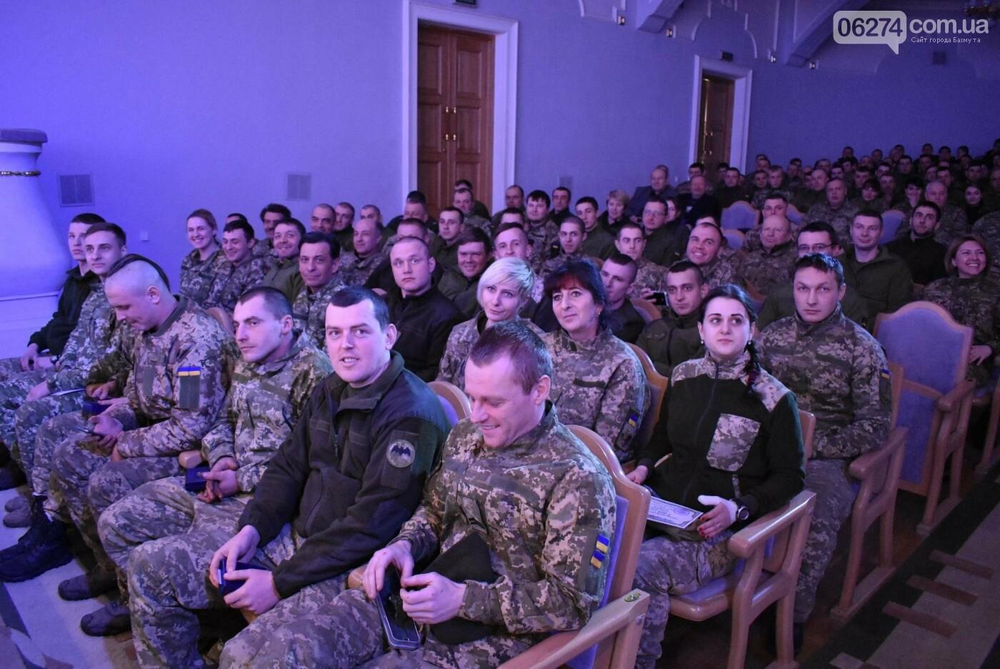 В Бахмуте свое трехлетие отметил 46-й отдельный батальон специального назначения «Донбасс-Украина», фото-15
