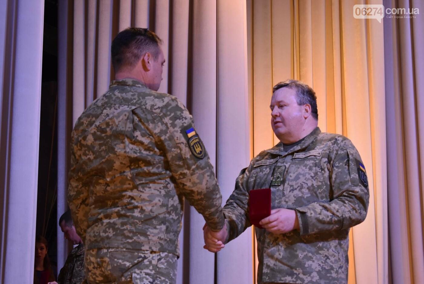В Бахмуте свое трехлетие отметил 46-й отдельный батальон специального назначения «Донбасс-Украина», фото-11