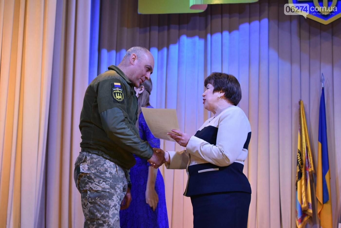 В Бахмуте свое трехлетие отметил 46-й отдельный батальон специального назначения «Донбасс-Украина», фото-9