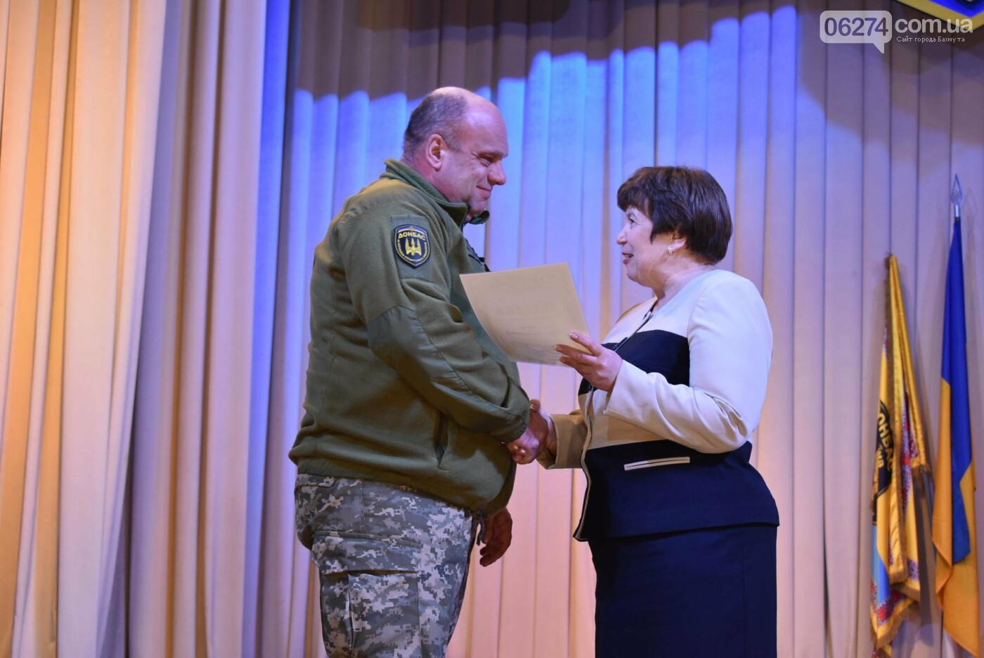 В Бахмуте свое трехлетие отметил 46-й отдельный батальон специального назначения «Донбасс-Украина», фото-8