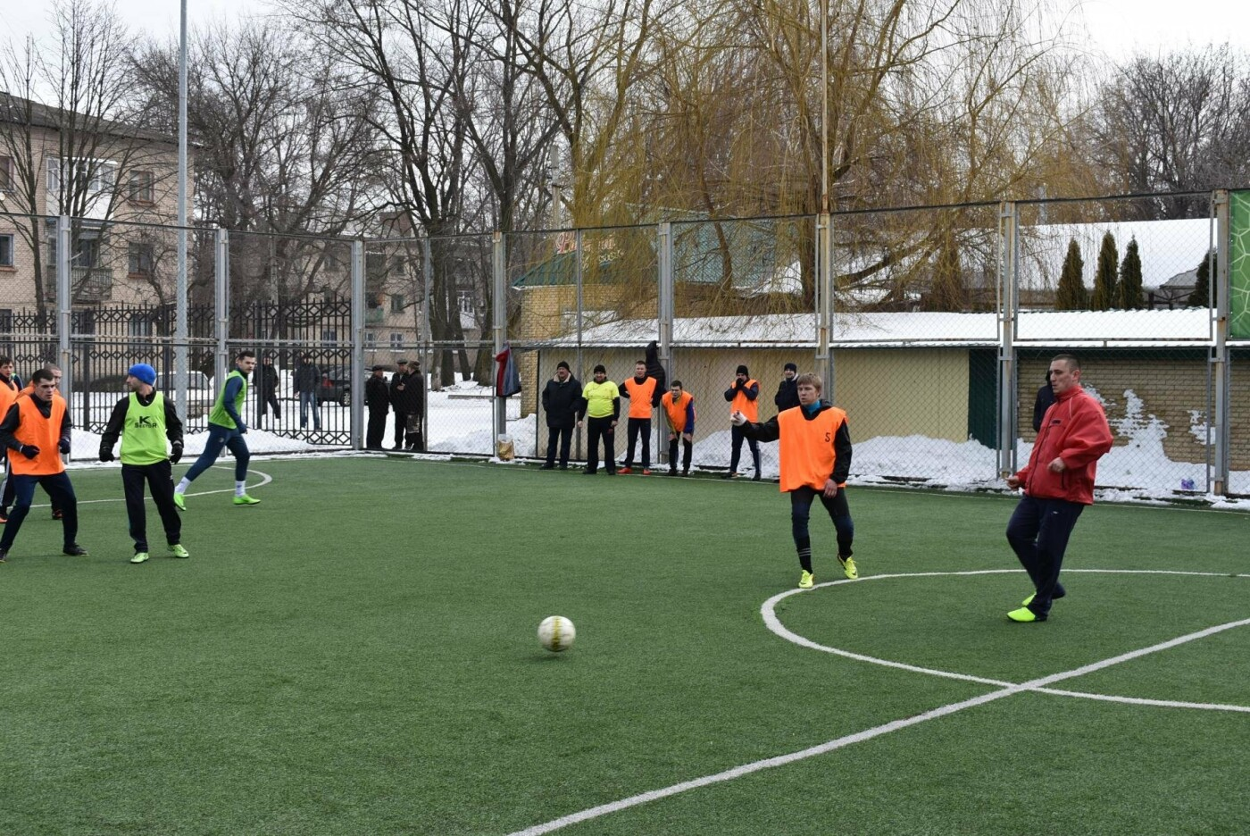 В Бахмуте футболисты СИЗО оказались сильнее полицейских, фото-1