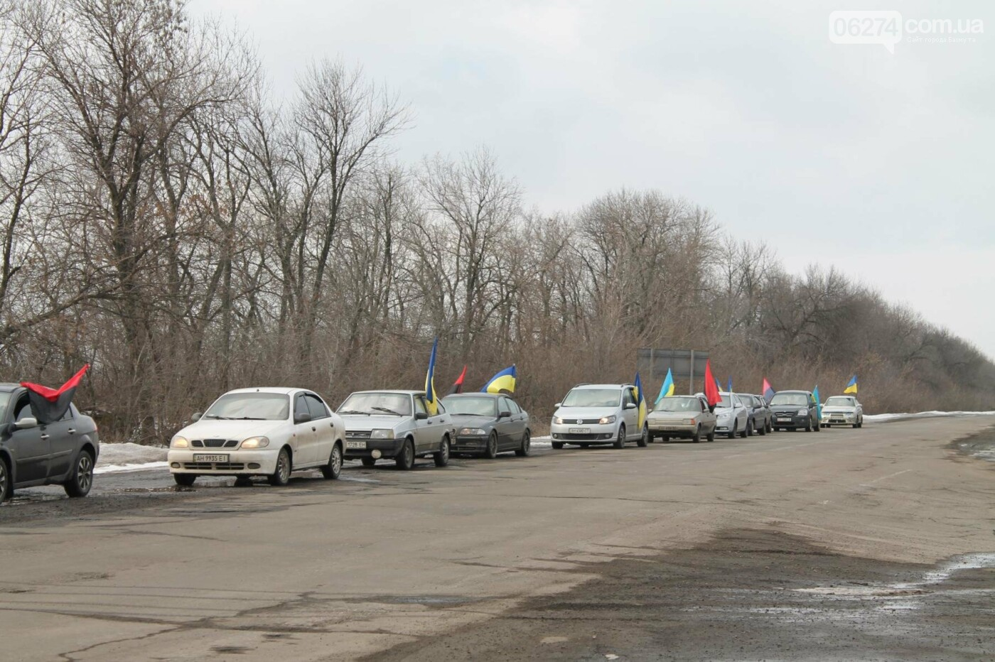 В Бахмуте прошли мероприятия по случаю третьей годовщины выхода украинских войск из Дебальцево, фото-9