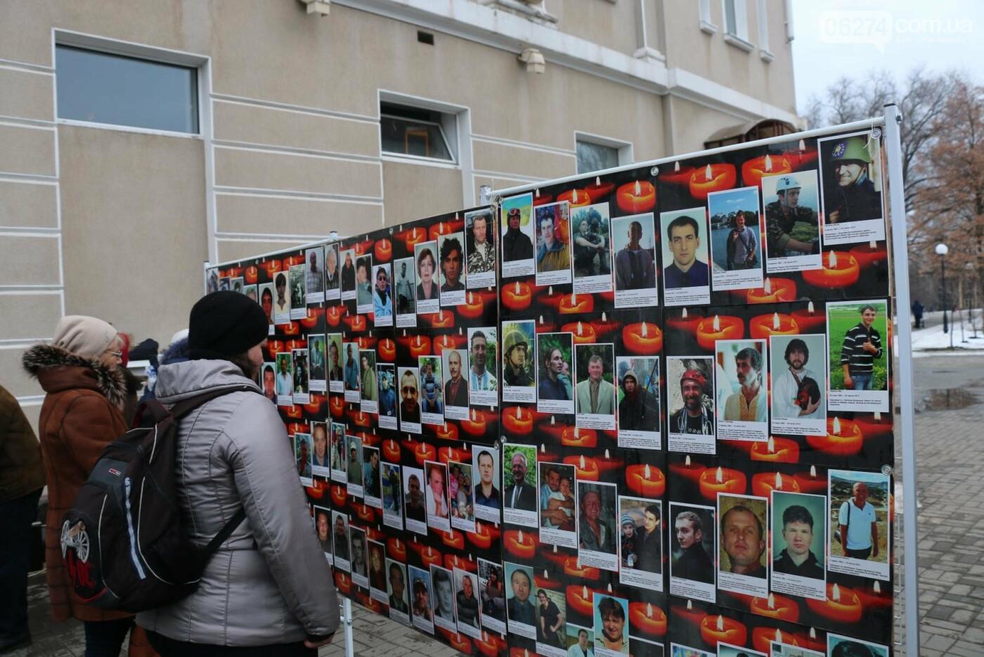 В Бахмуте прошел молебен по погибшим в Дебальцево, фото-3
