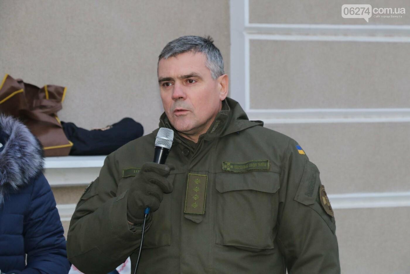 В Бахмуте прошел молебен по погибшим в Дебальцево, фото-2