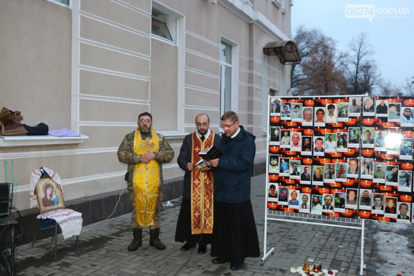 В Бахмуте прошел молебен по погибшим в Дебальцево, фото-6