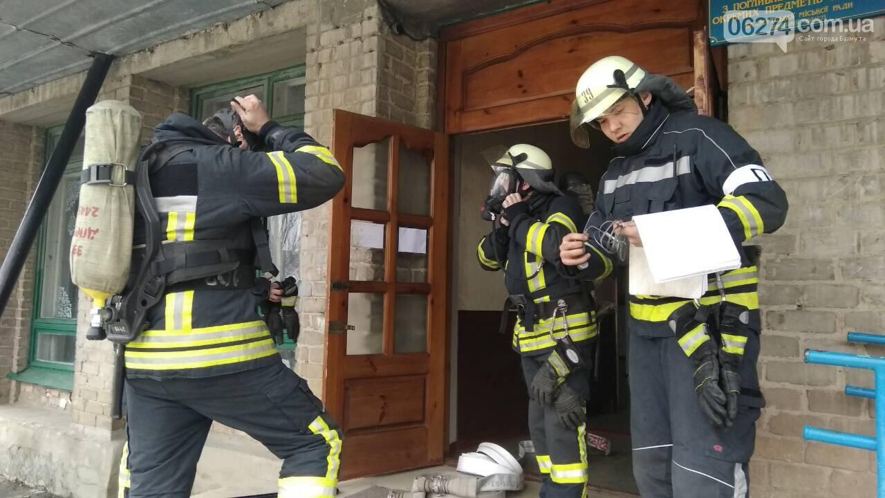 В Бахмуте пожарные проводят проверки учебных заведений, фото-6