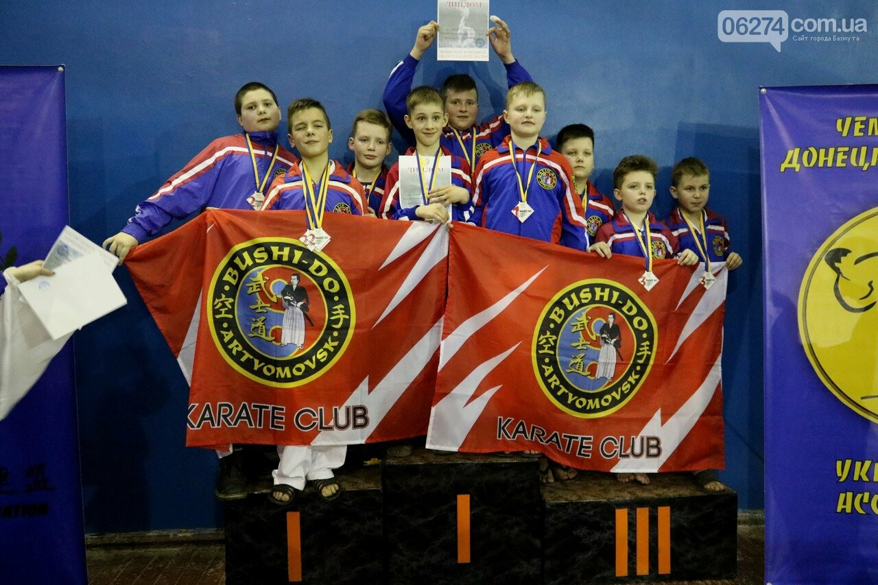 Каратисты Бахмута завоевали 73 медали на областном чемпионате, фото-5