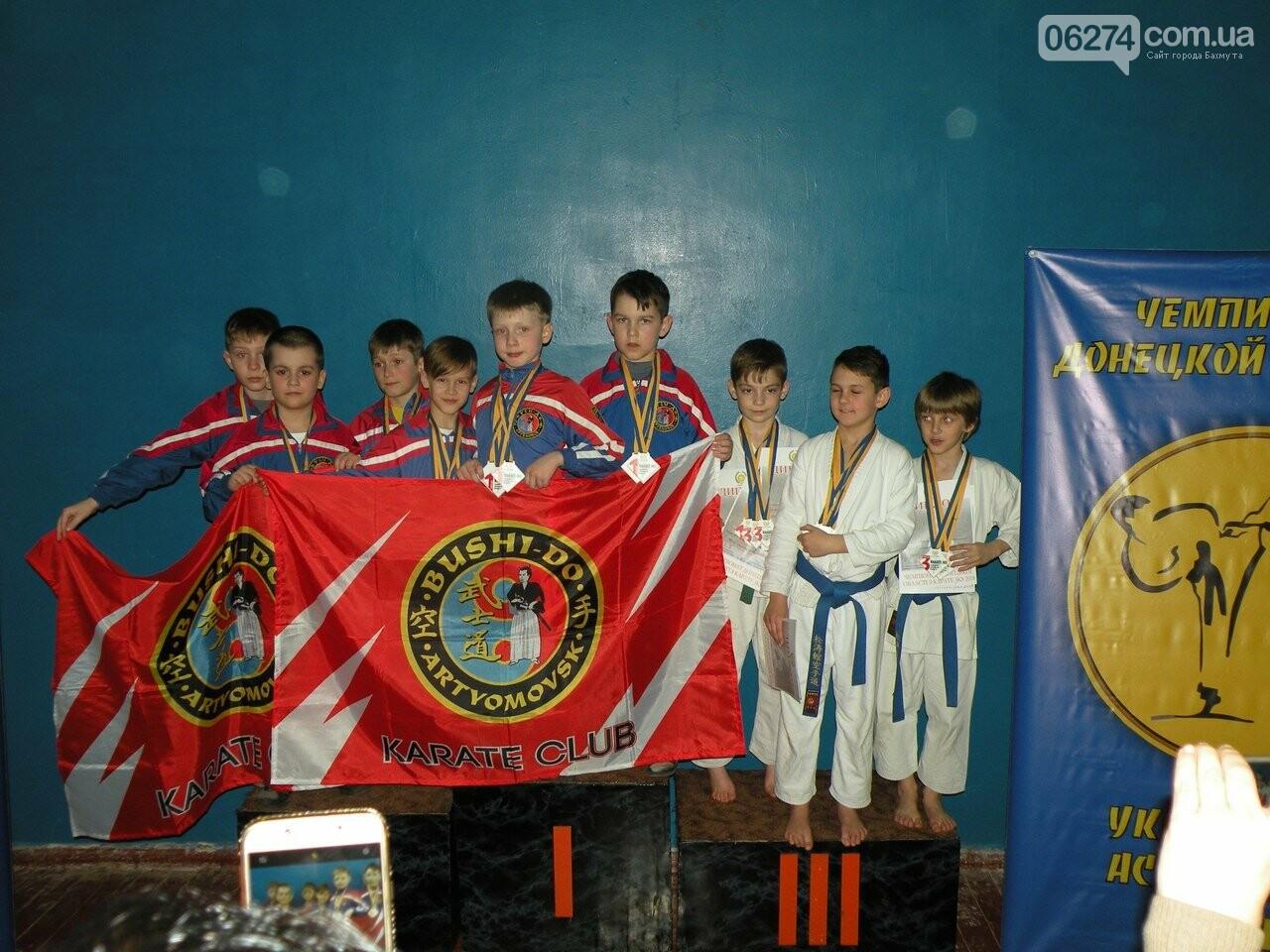 Каратисты Бахмута завоевали 73 медали на областном чемпионате, фото-6