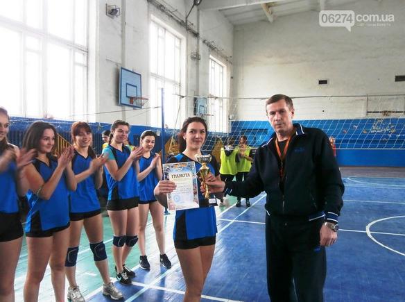 Студенты бахмутских ВУЗов соревновались в волейболе, фото-1