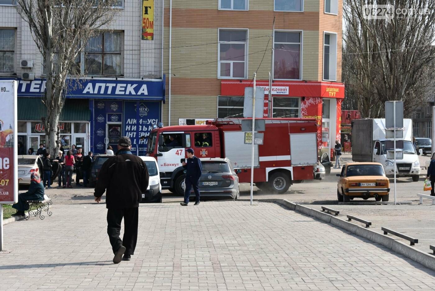 В Бахмуте спасатели проверили безопасность торгового центра «Астрон» (ФОТО), фото-1