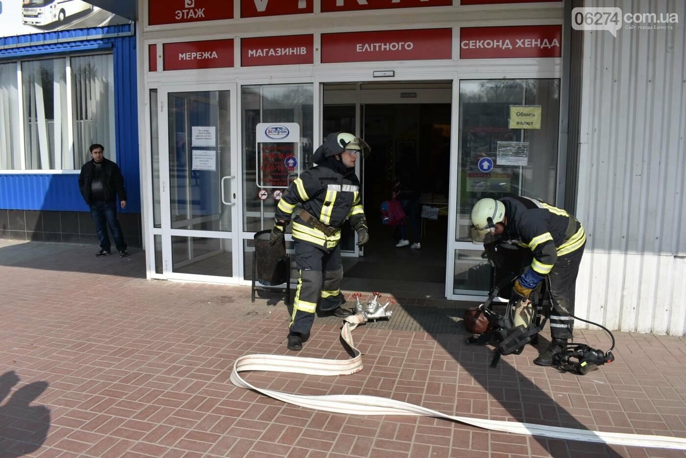 В Бахмуте спасатели проверили безопасность торгового центра «Астрон» (ФОТО), фото-4