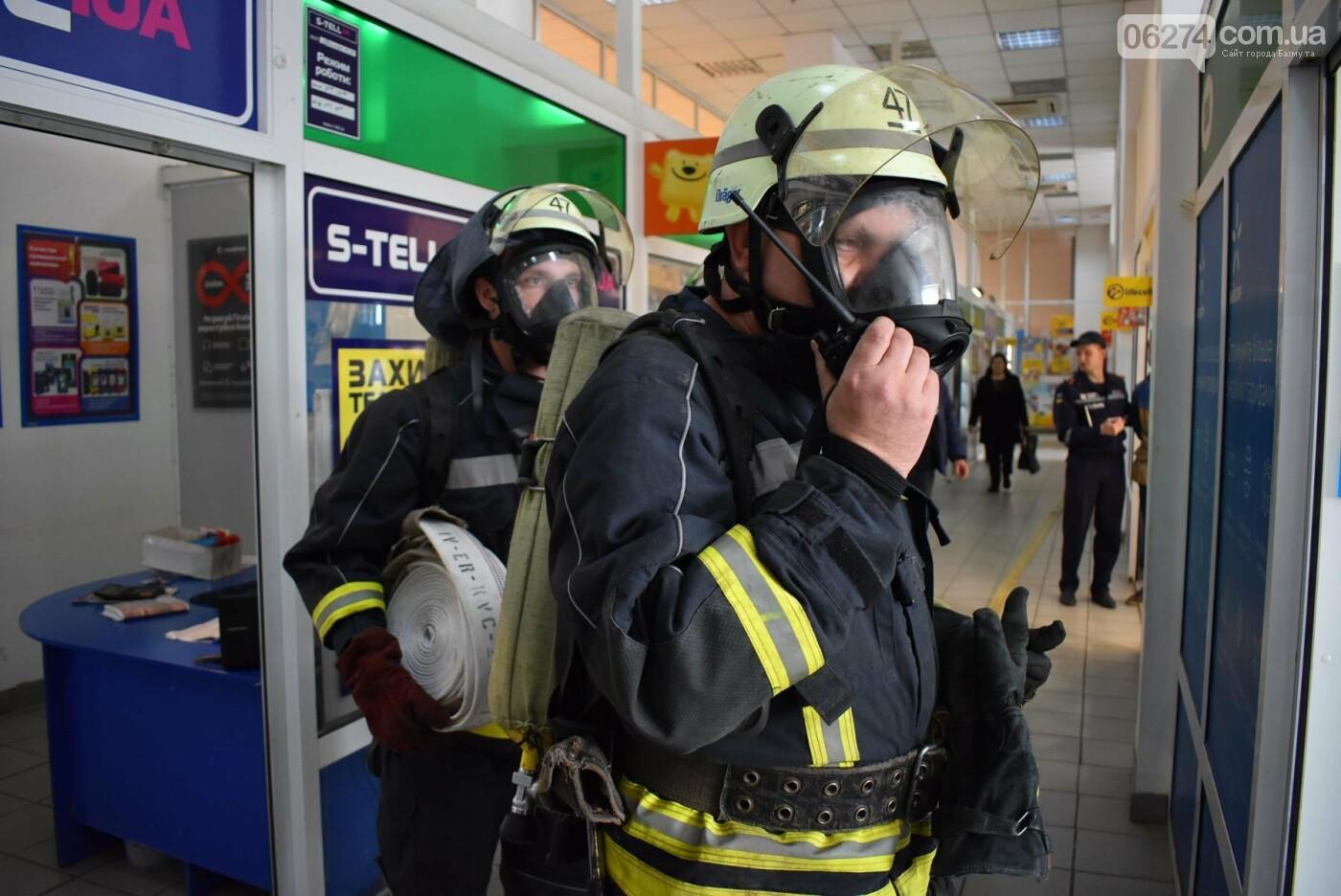 В Бахмуте спасатели проверили безопасность торгового центра «Астрон» (ФОТО), фото-6