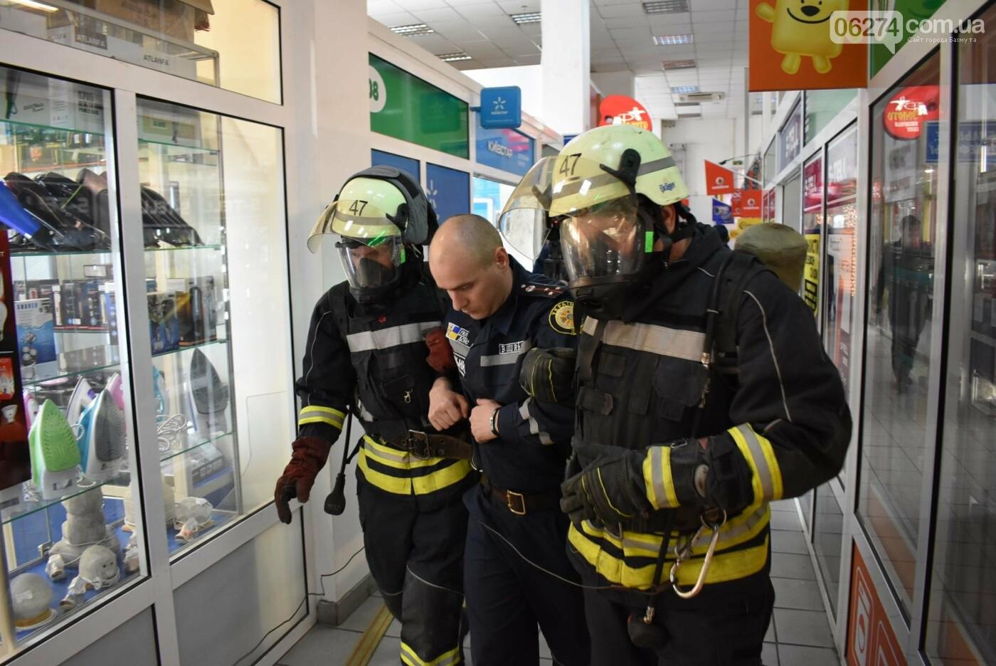 В Бахмуте спасатели проверили безопасность торгового центра «Астрон» (ФОТО), фото-8