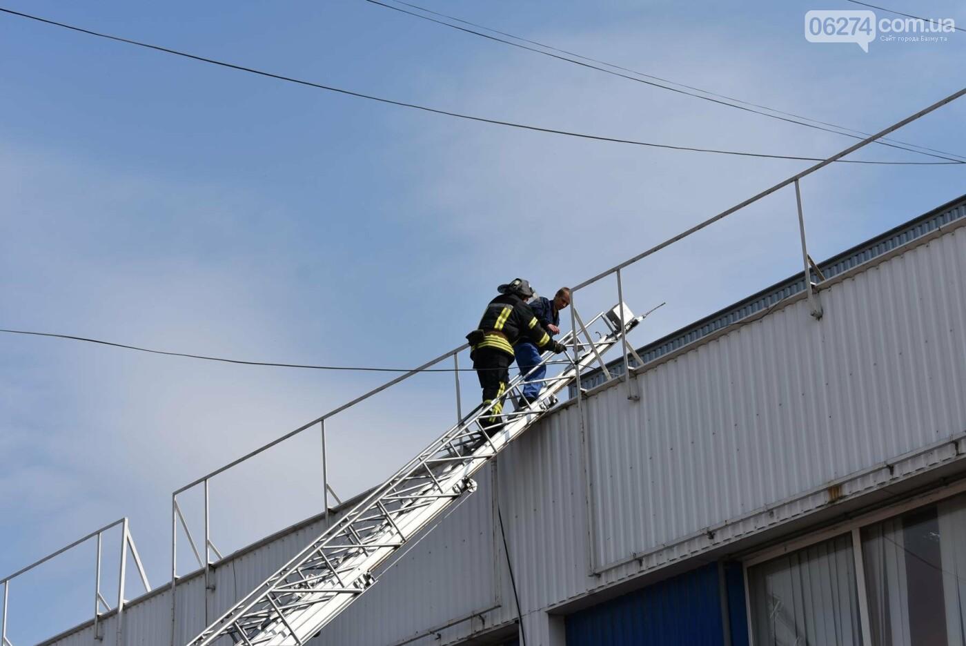 В Бахмуте спасатели проверили безопасность торгового центра «Астрон» (ФОТО), фото-12