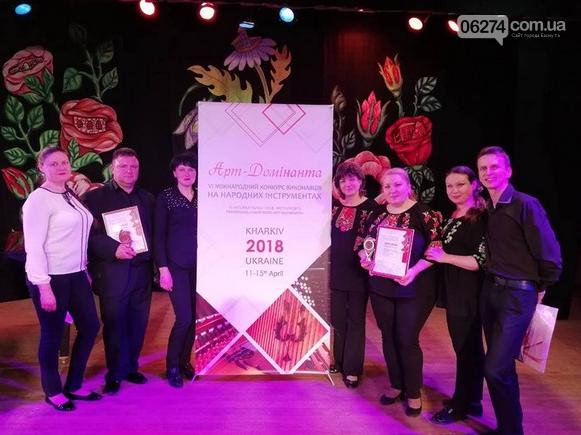 Школа искусств Бахмута достойно представила родной город на Международном фестивале-конкурсе в Харькове, фото-4